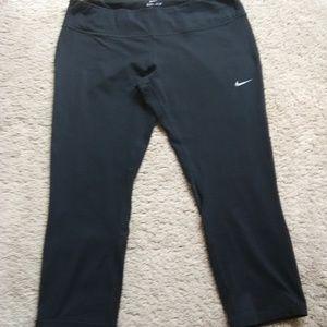 Women's Nike Running Dri-Fit Capris w/Mesh Inserts